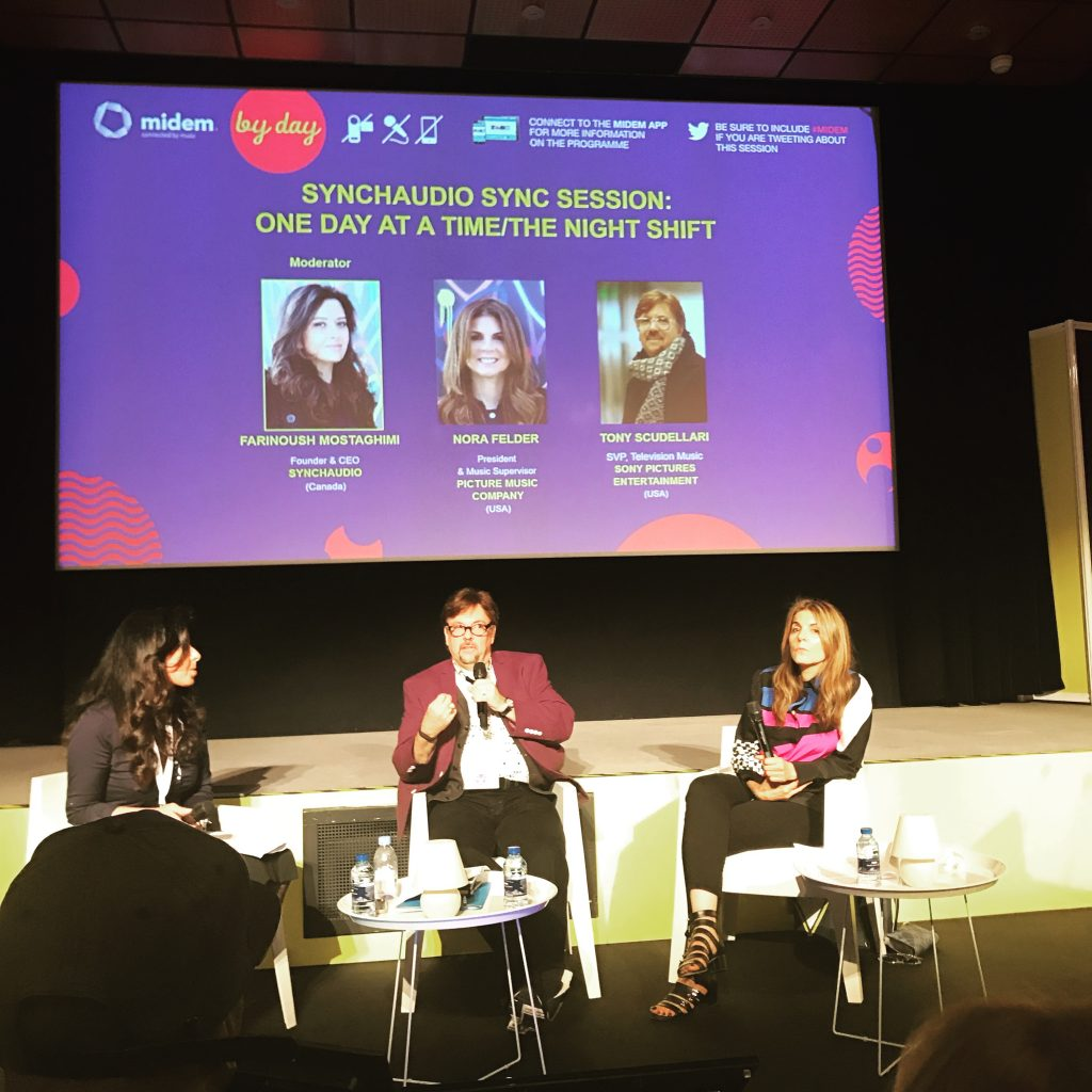 Sync and Brands Day at Midem 2017