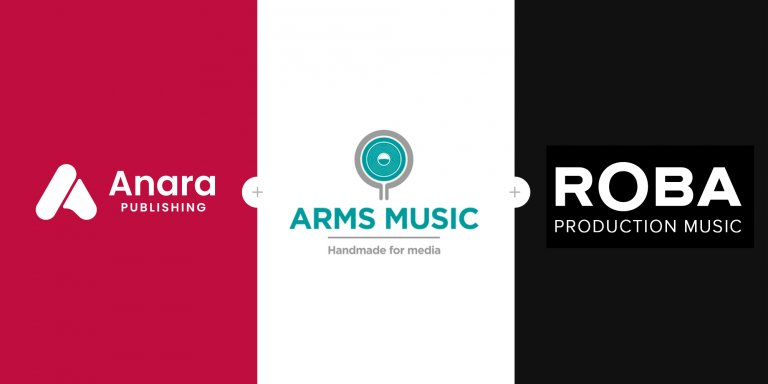 Anara Publishing Arms Production Music ROBA Production Music