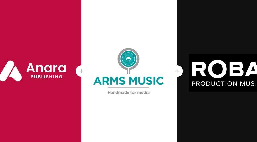 Anara Publishing Arms Production Music ROBA Production Music